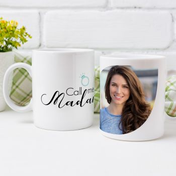 Personalisiertes tasse Call me Madame