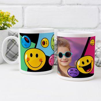 personalisierte tasse Smiley