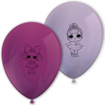 8 LOL Surprise ballons Latex