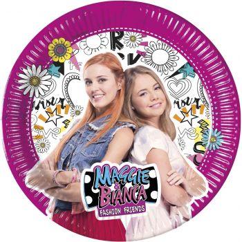 8 Teller Maggie und Bianca