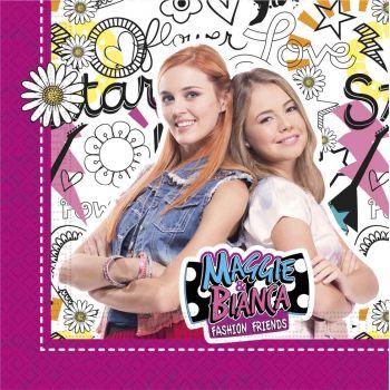20 Servietten Maggie und Bianca