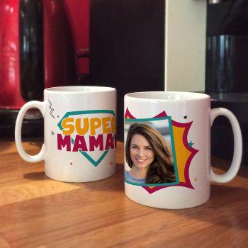 personalisierte tasse Dekor Super Mama