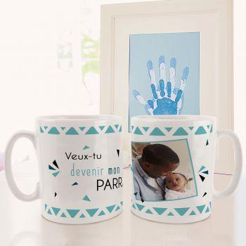 personalisierte tasse Dekor Mein Pate