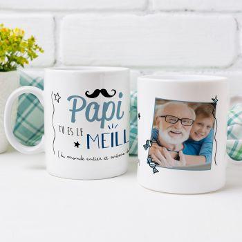 personalisierte tasse Dekor Der beste Papi