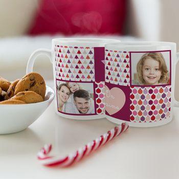 Bese weiß personalisierte Dekoration Weihnachts-Liebe