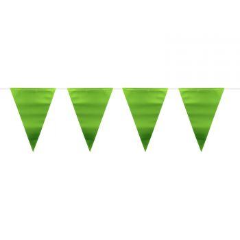 Grüne, metallisierte Wimperblumen