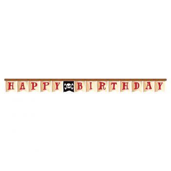 Banner Happy birthday Piratenschatz