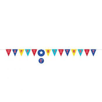 Banner Happy birthday zirkus party