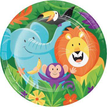 8 teller Dschungel party