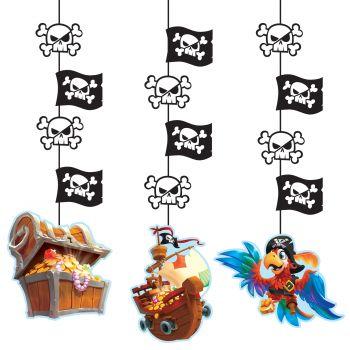 3 Aufhängung girlande Piratenschatz