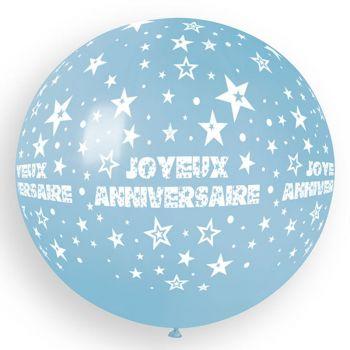 1 Riesiger Ballon Happy Birthday Baby Ø80cm