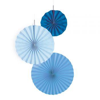 3 Aufhängung Fächer blau