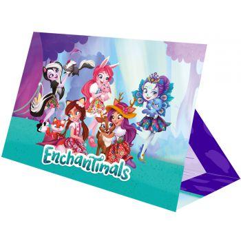 8 Einladungskarten Enchantimals