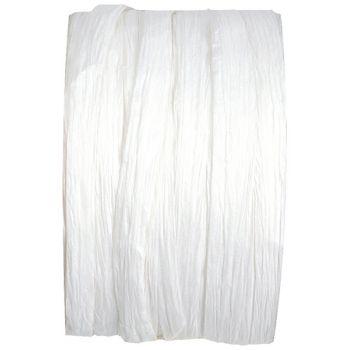 Spule raphia weiß 20m