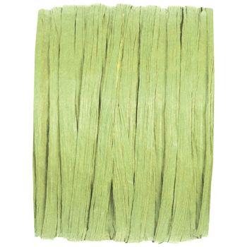 Spule raphia grün 20m