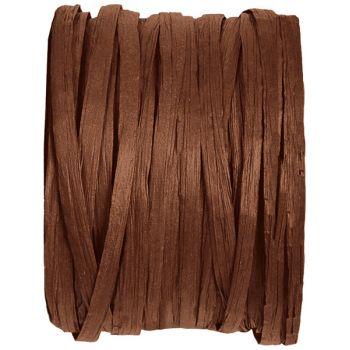 Spule raphia schokolade 20m