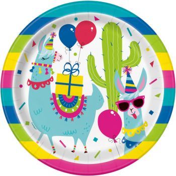 8 Teller Lama Birthday