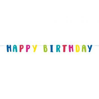 Banner Happy Birthday Lama Birthday