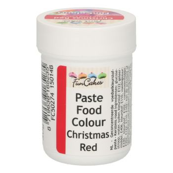 Lebensmittel-Färbungsstoff Funcakes rot Noël