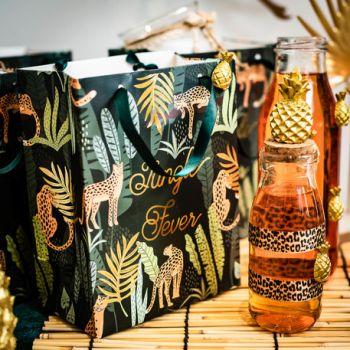 4 GeschenkeBeutel Dschungel fever