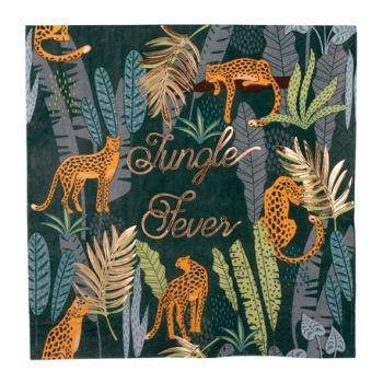 16 Handtücher Dschungel fever