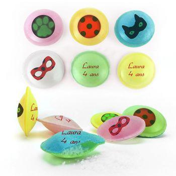Personalisierte Süßigkeiten Säure-Untertassen Dekor Lady Bug.