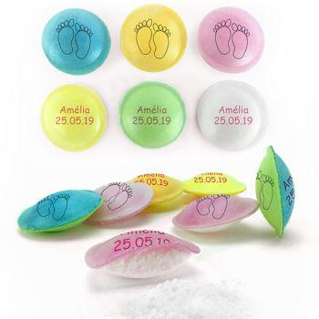 Personalisierte Süßigkeiten Untertassen Dekor Petons.