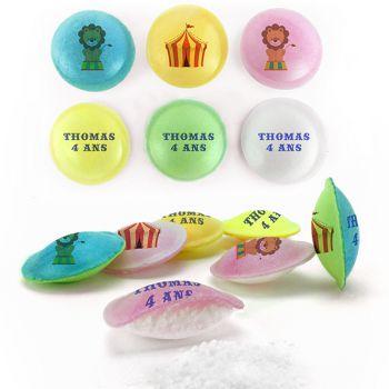 Süßigkeiten Pixipop Zircus Text