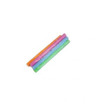 5 Mini-Strohhalme säuerliche Pulver