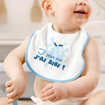 Lätzchen Ich habe Bibi Blau