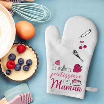 Küchen-Handschuh Dekor Mama Patissière