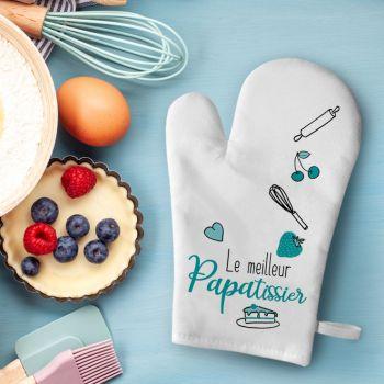 Küchen-Handschuh Dekor Papa Patissier