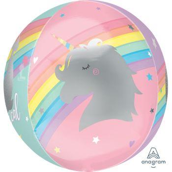 Luftballons Einhorn XL Magical regenbogen