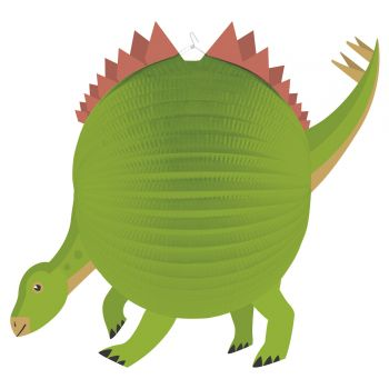 Laterne Papier Dinosaurier Party