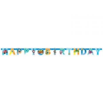 Banner Happy Birthday Top Wing