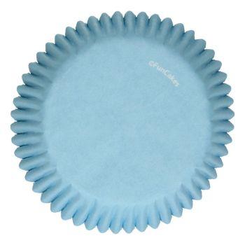 48 Hellblaue Behälter Funcakes