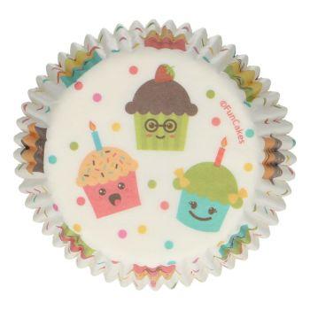48 Kawai Funcakes backförmchen