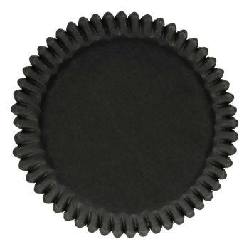 48 Black backförmchen Funcakes