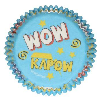 48 backformchen Cupcakes Super Held