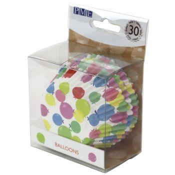 30 Alu-Luftballons FÜR KMU