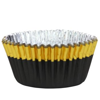 30 Alu-Kästchen goldfarben KMU