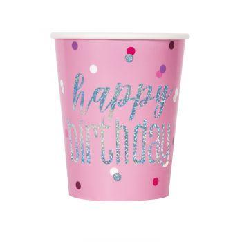 8 Happy birthday glitz glitz rosa