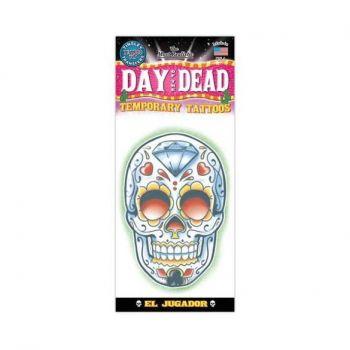 Tattoo day of dead diamond