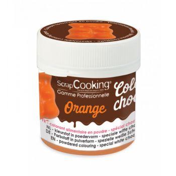 Color choco orange fettlöslich Scrapcooking