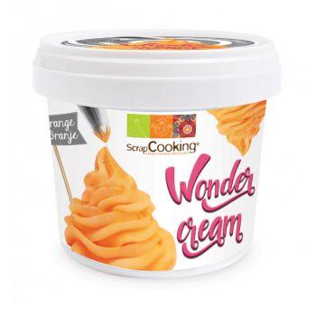 Wonder cream orange Scrapcooking