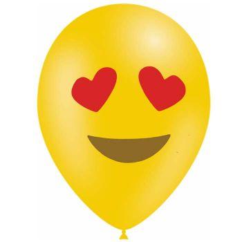 10 Emoticones Ballons love