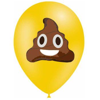 10 Ballons Emoticones kaka