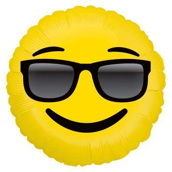 Ballon helium Emoticones Lünette Sonne