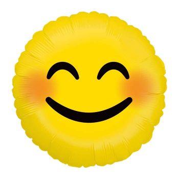 Ballon helium Emoticones smile