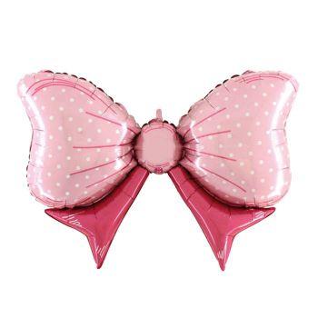Ballon helium riesigen Knoten rosa